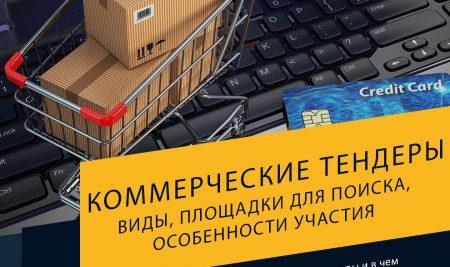 Коммерческие тендеры России: виды, площадки для поиска, особенности участия