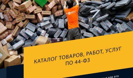 Каталог товаров, работ, услуг по 44-ФЗ: что это такое, для чего он нужен и как его использовать?