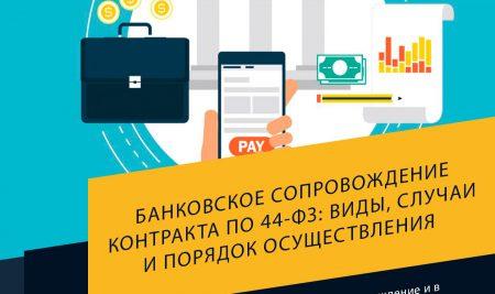 Банковское сопровождение контракта по 44-ФЗ: виды, случаи и порядок осуществления